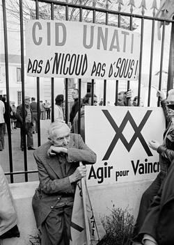 Manifestation, France, 1978.