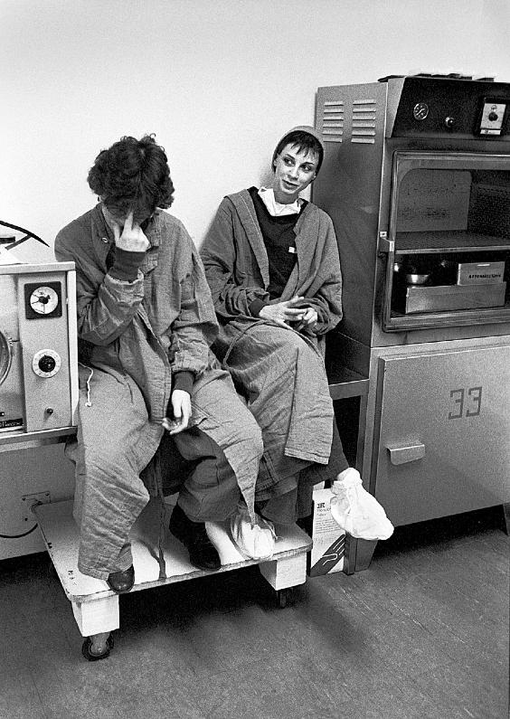 La pose, 1982. France