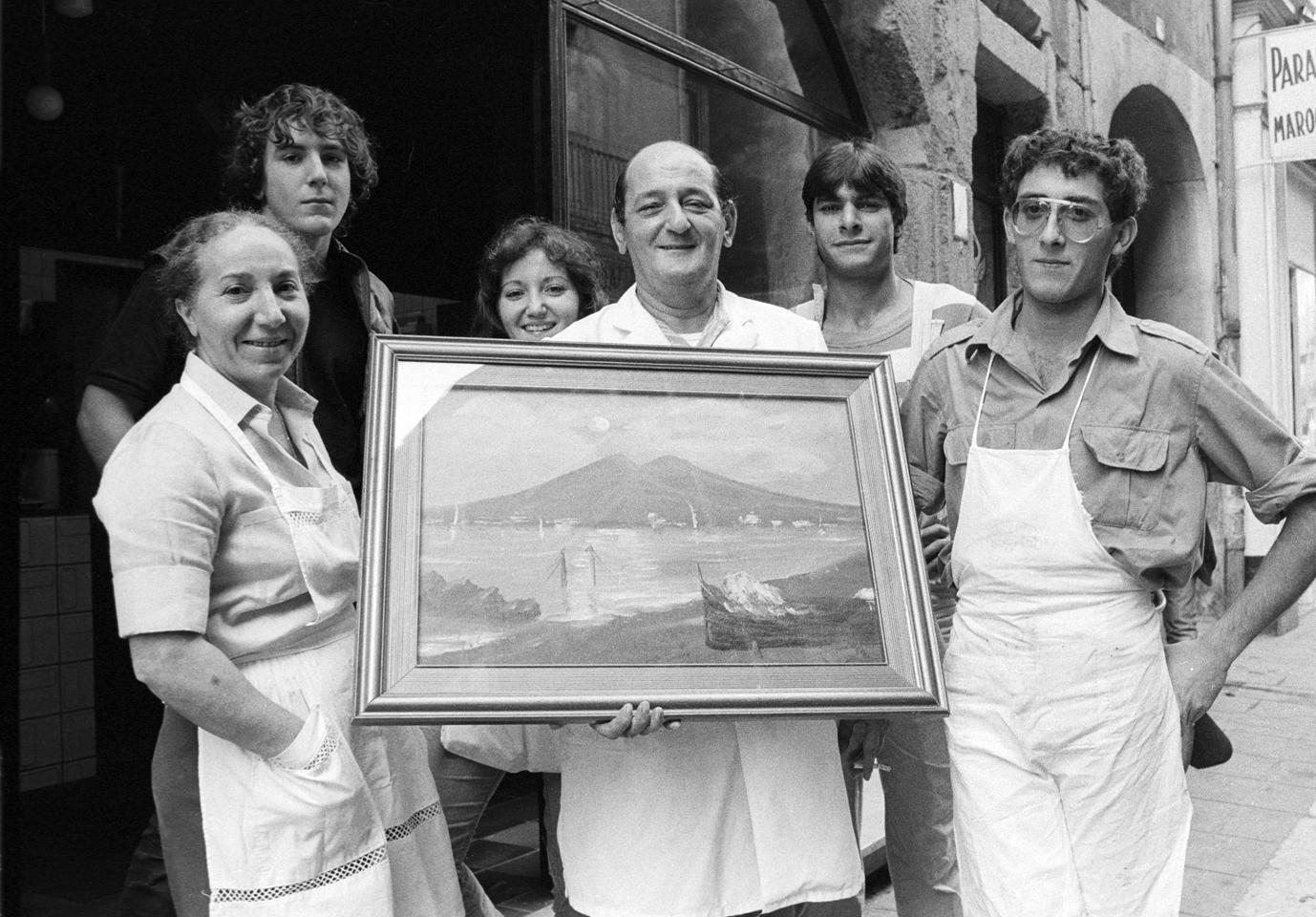 Les Italiens à Grenoble.