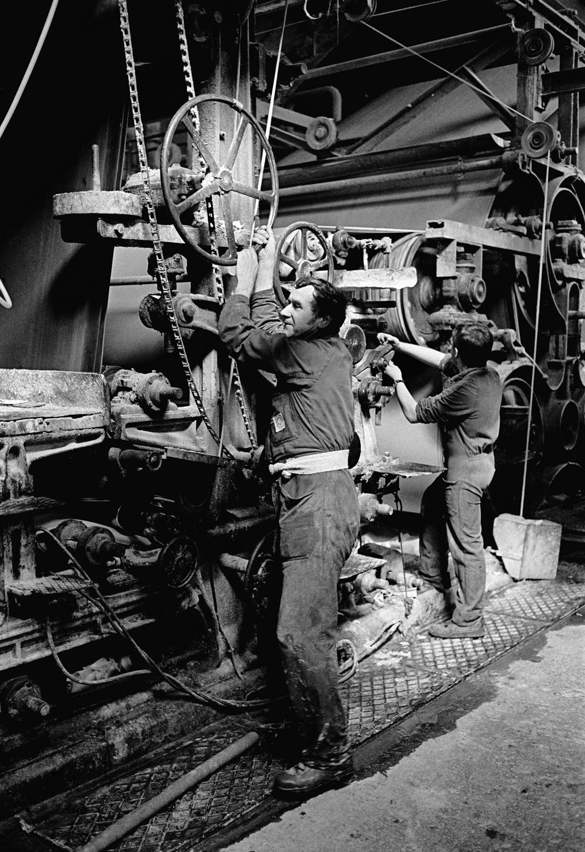 Papeteries de Lancey. 1983