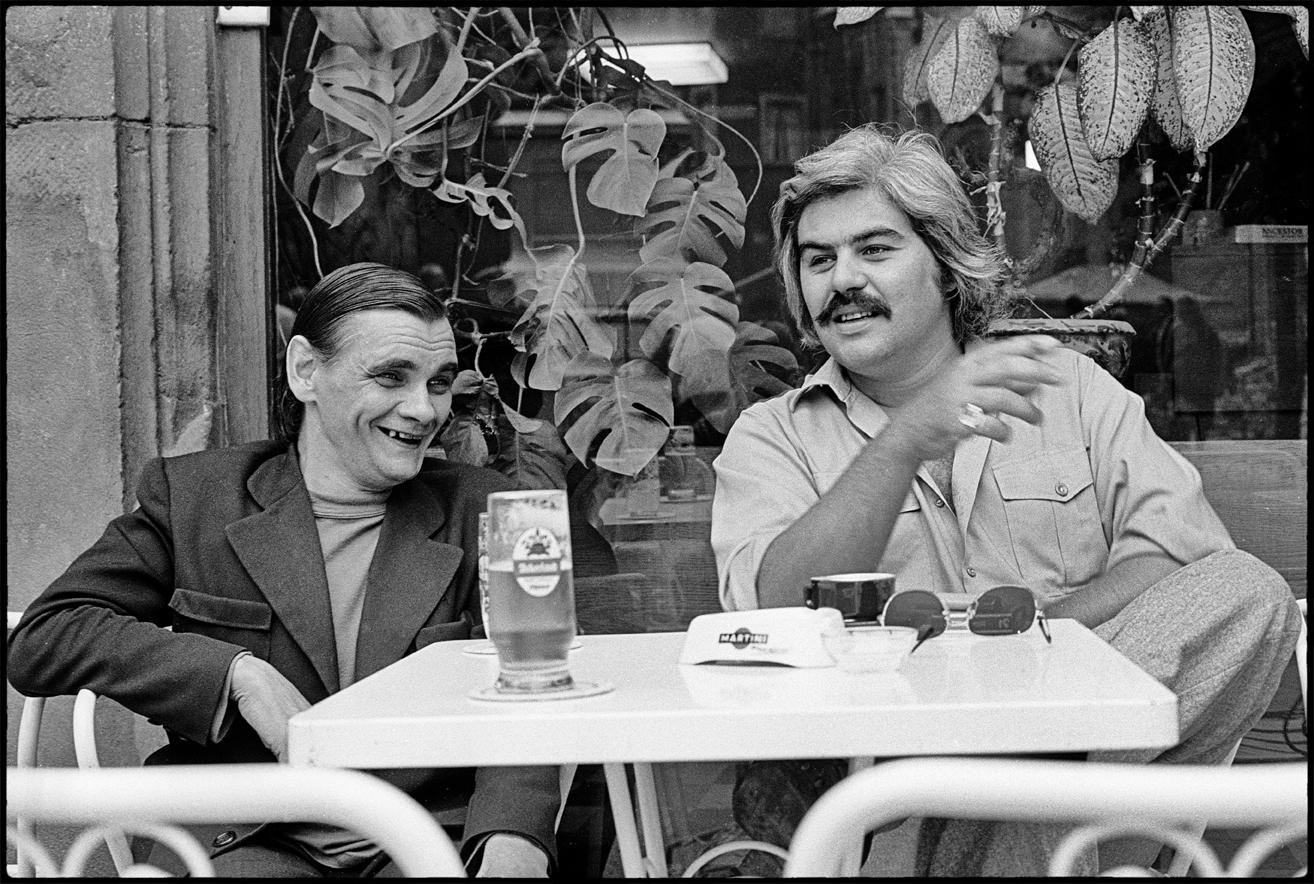 Gustave Poncelet et Serge Papagalli