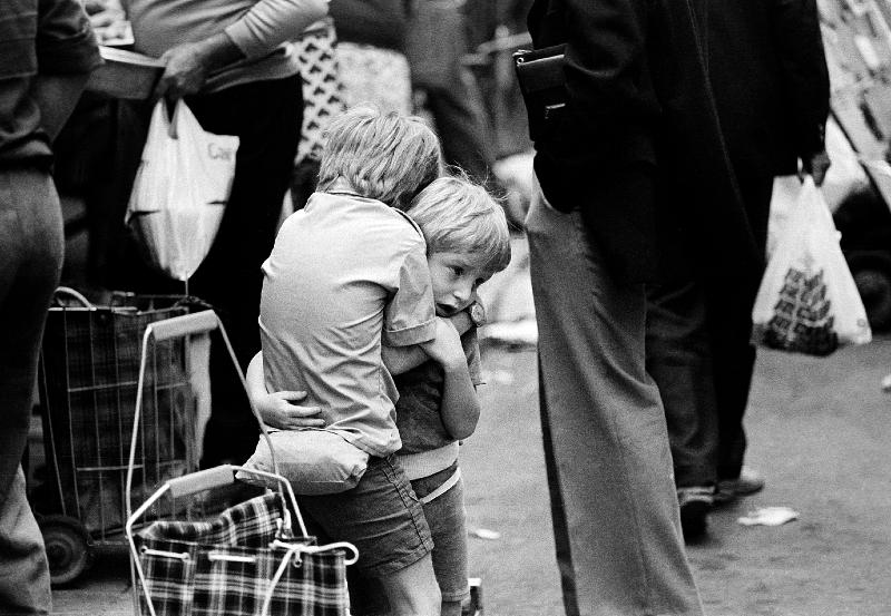 Les frères. 1978 © Franck Pédersol