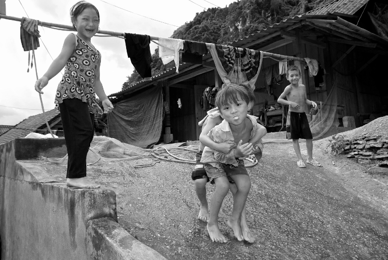 Chez les hmongs, Vietnam 2012.