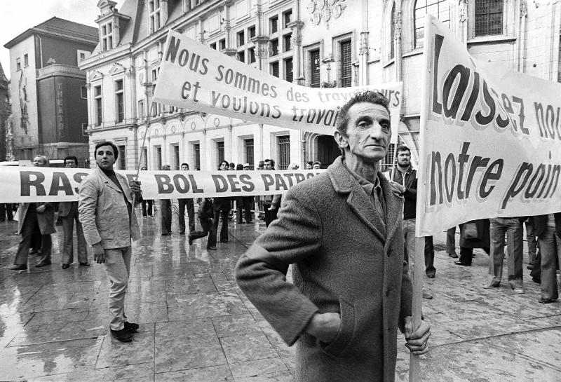 Manif de la boulange 1978