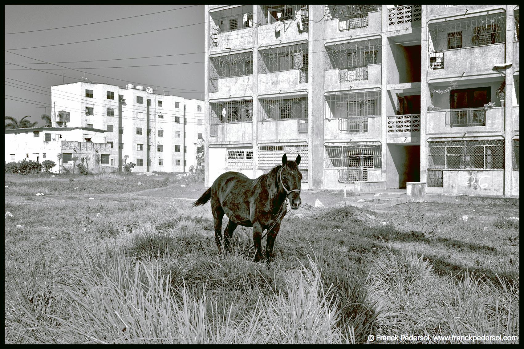 Banlieue de caribarian, Cuba 2015.