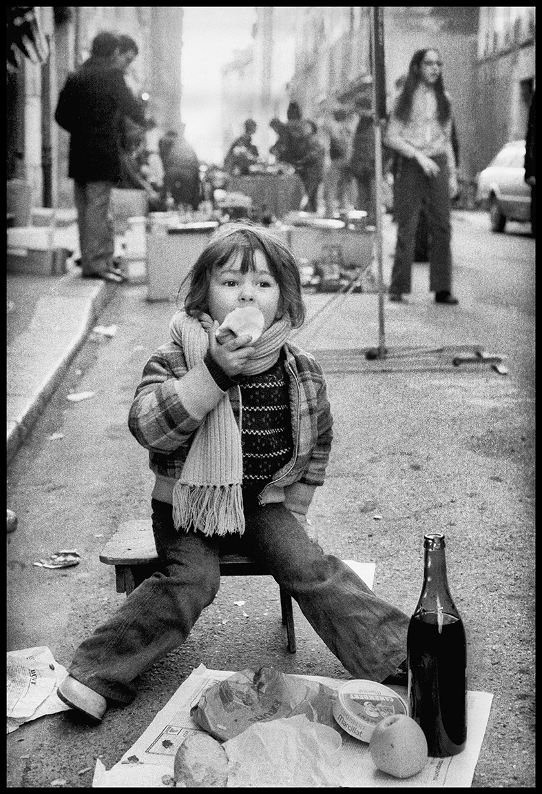 Brocante, Grenoble, France, 1973.