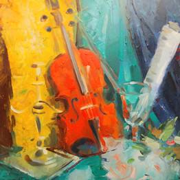 Naturemort - Violin