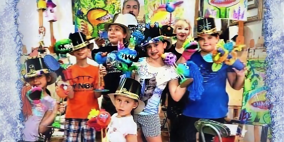 PA-Day ~ Art Camp For Kids (Age 6-12) - $70 (Tax & materials included)