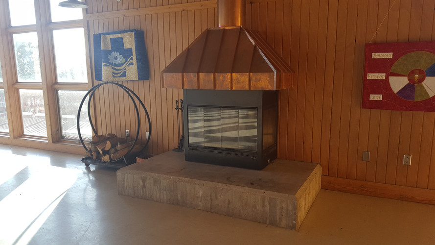 Event Center Fireplace