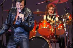 Darrin Hagel performing Elvis song