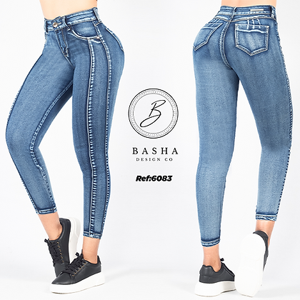 Jean skinny para dama Basha Ref 6083