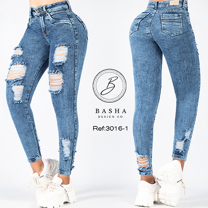 Jean para dama Basha Ref 3016-1