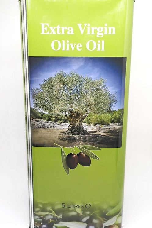 Premium Extra Natives Olivenöl aus Peloponnes, Kanister 5L
