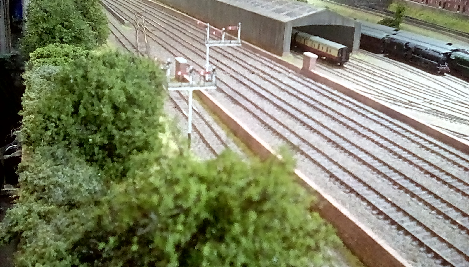 Carriage sheds and signals