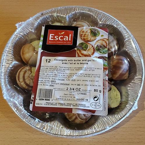 Escargot in Garlic Butter 12/pack