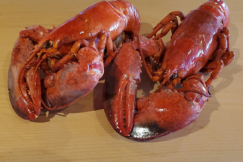 Lobster Cooked 1.25lb -1.5lb 1/pack