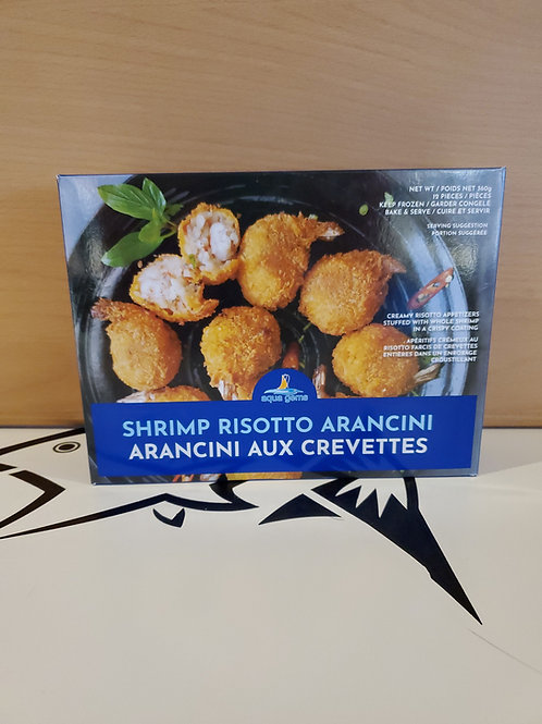 Shrimp risotto Arancini