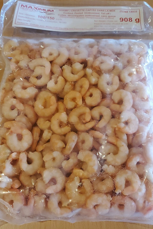 Shrimp Cooked Salad  100-150 ct 2lbs