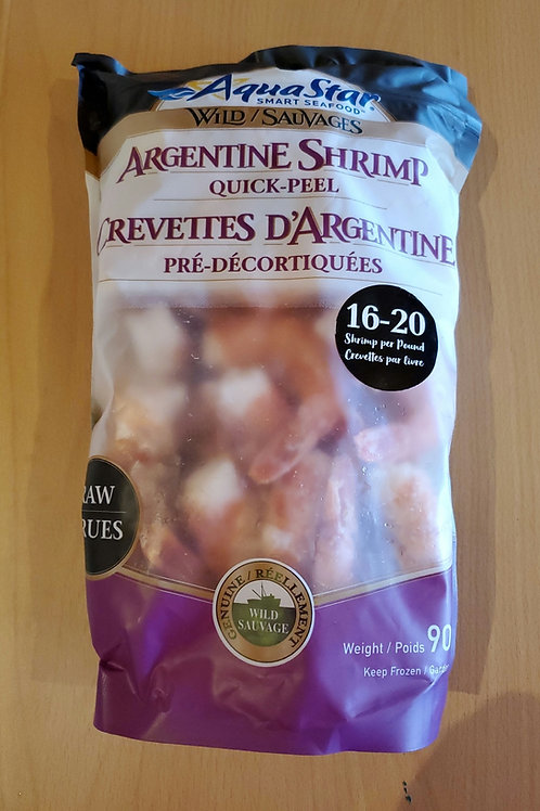 Shrimp Argentina  ez peel 2lb wild raw