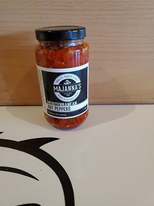 Majanna's by Mettawa's Mediterranean Hot Peppers