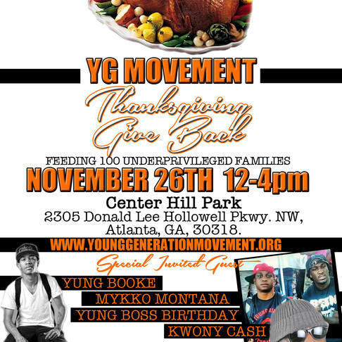 Annual Thanksgiving Giveback