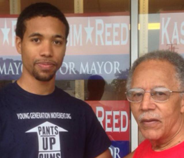 Atlanta City Councilman C. T. Martin and Julious George