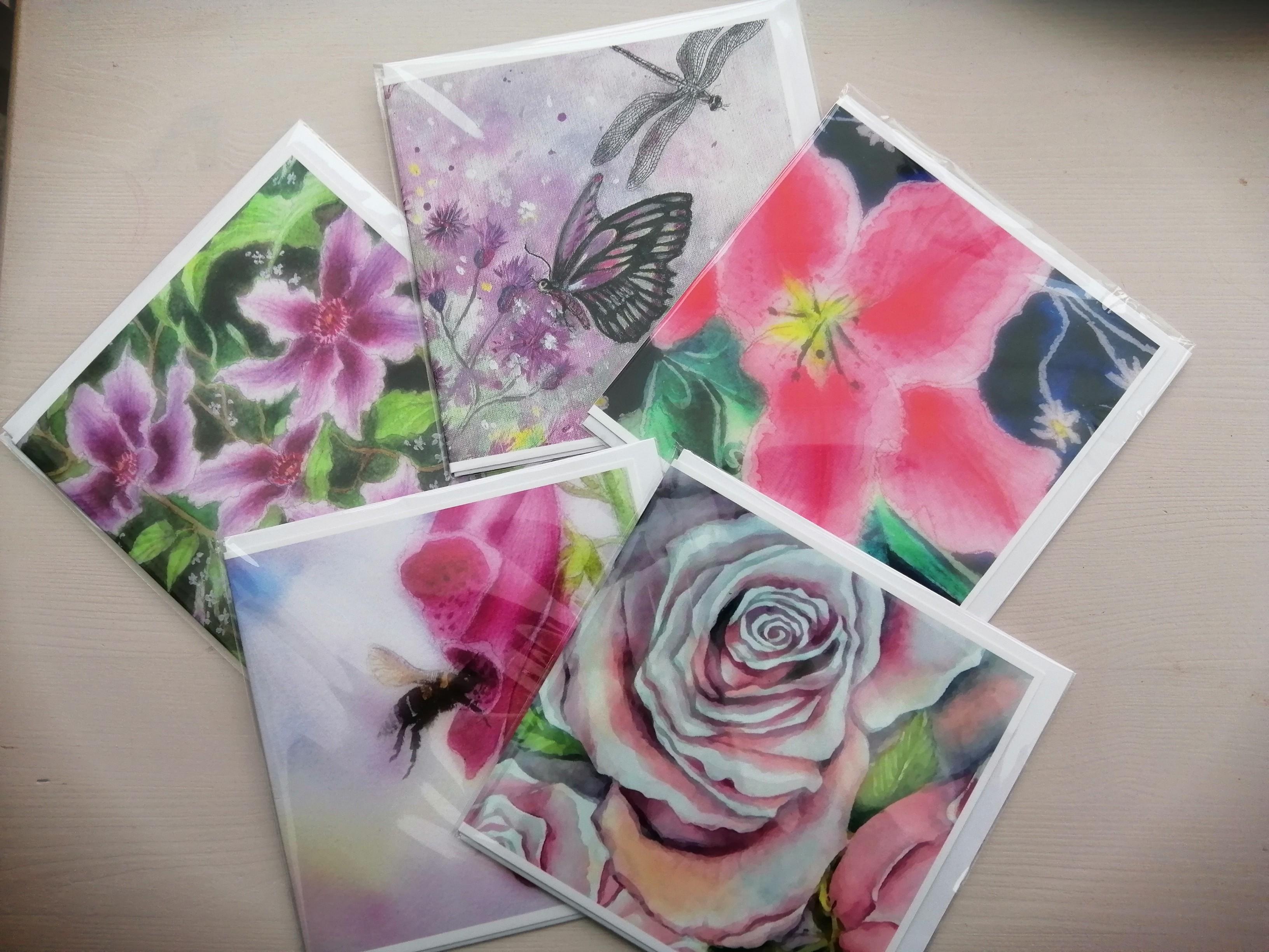 English Garden Collection cards