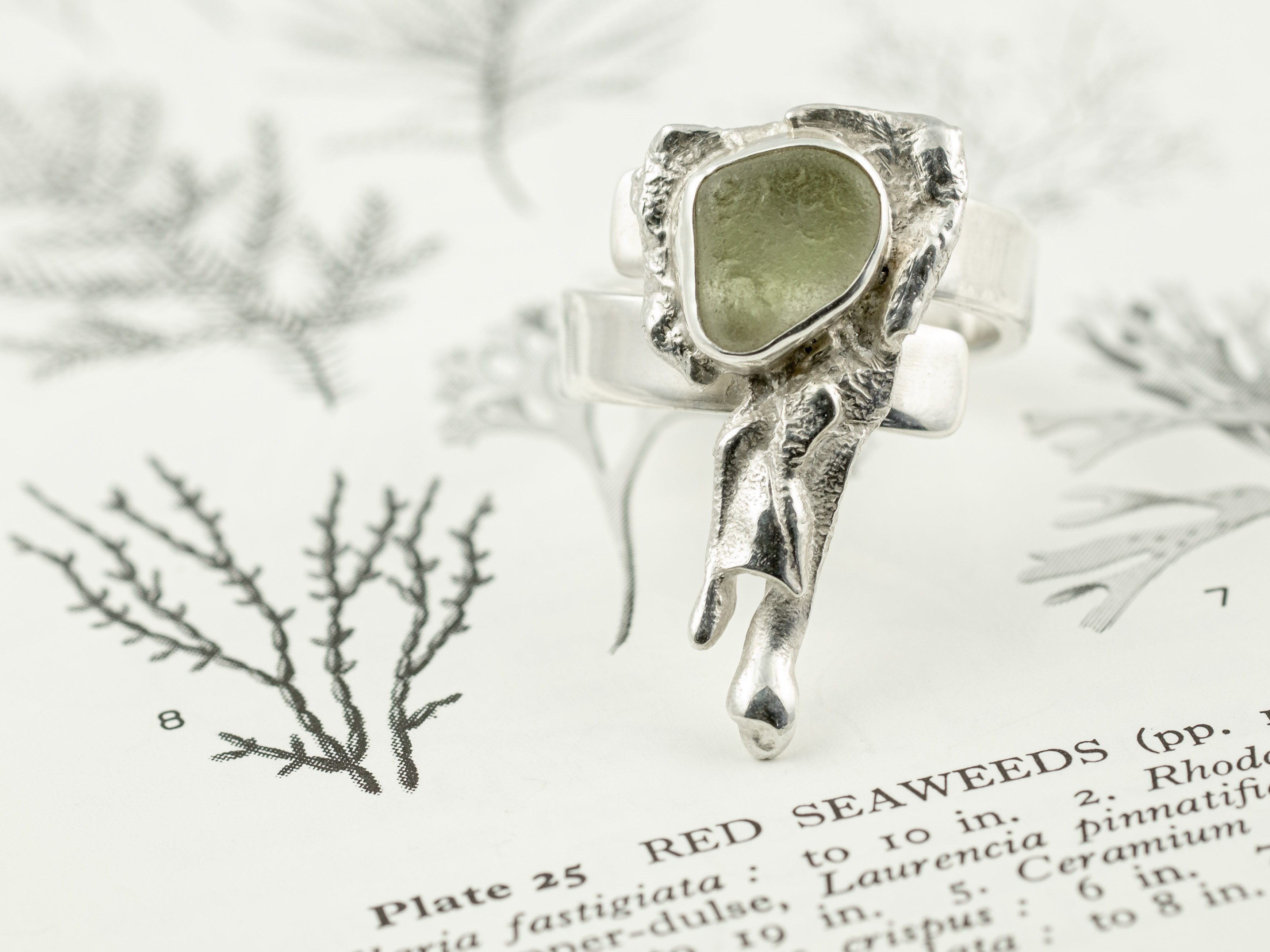 Seaglass Ring