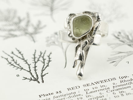 Bilberry and Birch seaglass ring.jpg