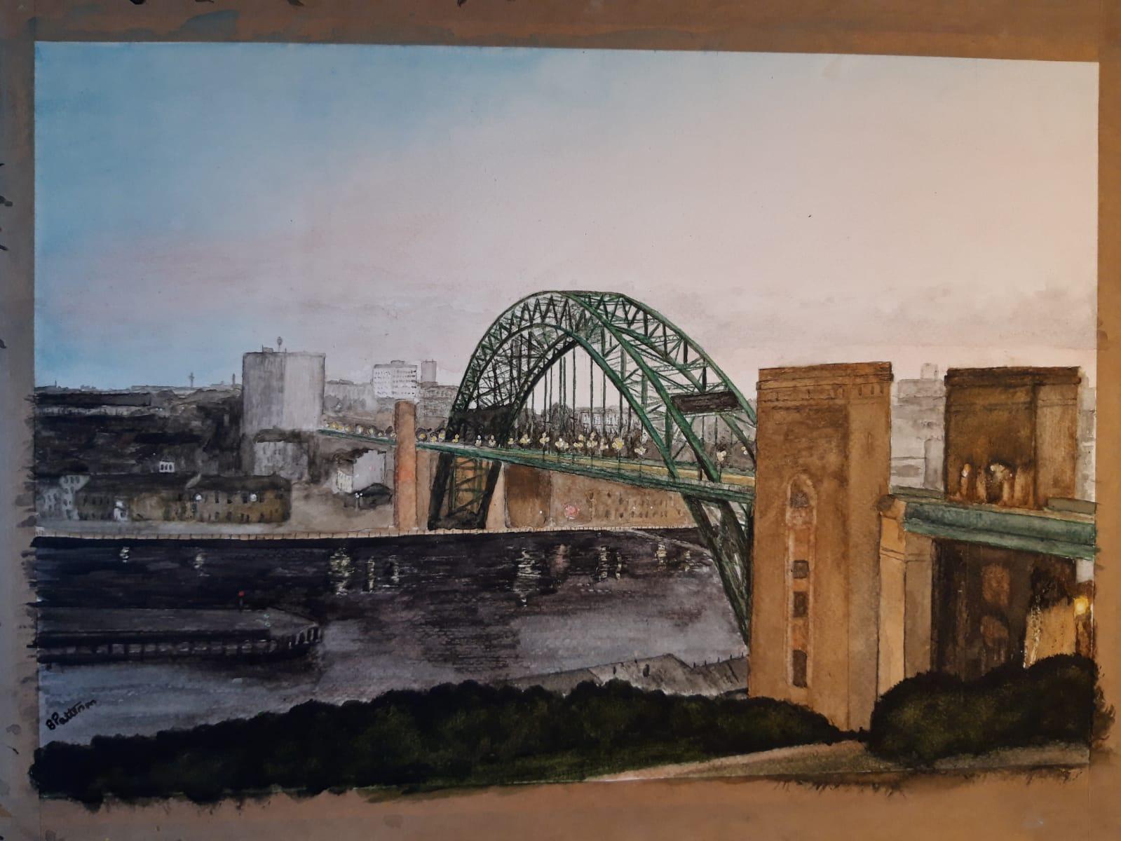 View of the Tyne Bridge