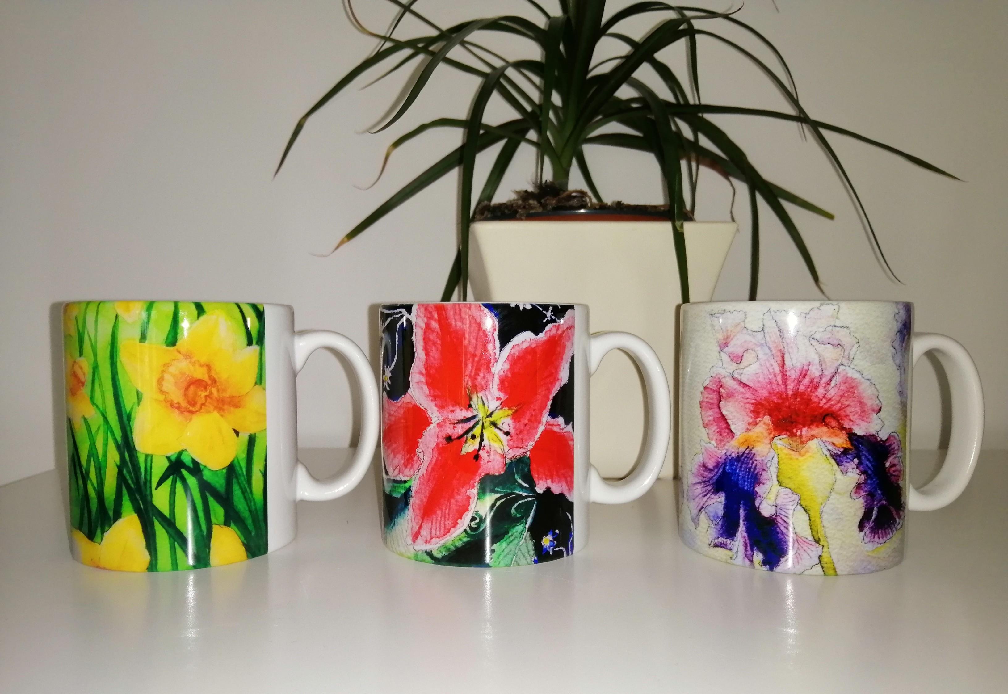 English Garden Collection  Mugs