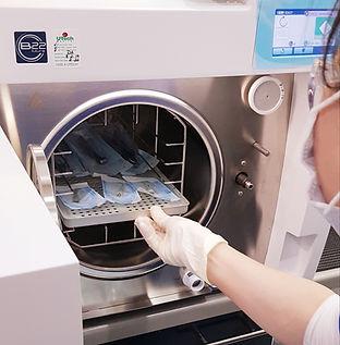 Sterilisation at your dental care team