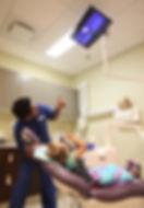 Child enjoying dental visit