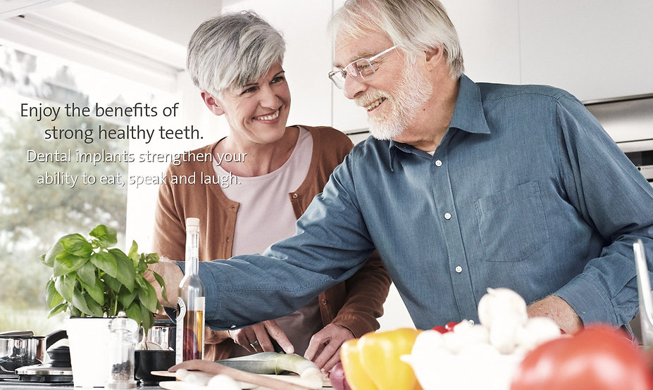 Dental implant treatment at Your Dental Care Team @ North Strathfield improve your bite, speech and laughter!