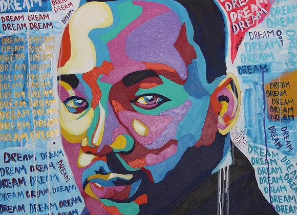 "MLK ORIGINAL 36"" x 36"""