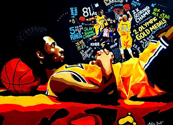 Kobe Bryant 16x20 Prints