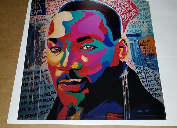 Dream MLK Jr print