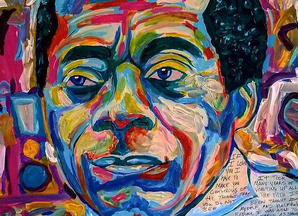 James Baldwin 16x20 Prints