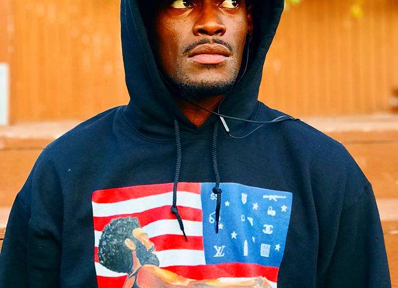 This is America Hoodies- Black