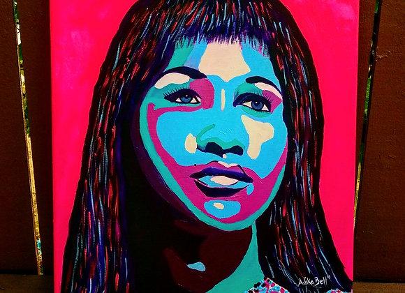 Aretha Franklin  (orginal artwork)