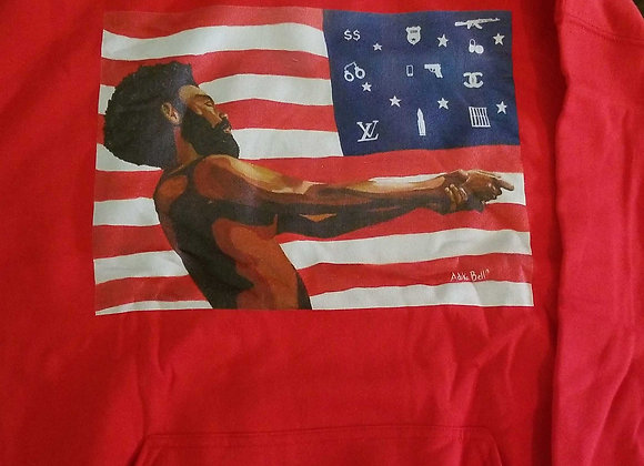 This is America Hoodies-Red