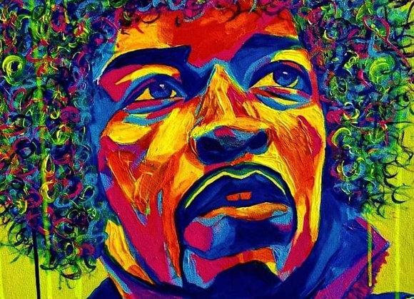 Jimi Hendrix Print
