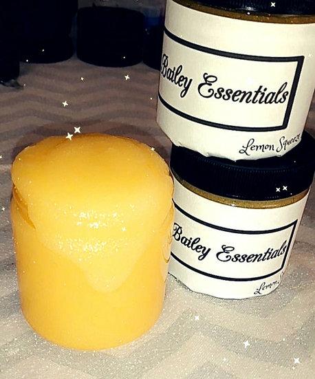 (10) Lemon Squeeze Lip Scrubs {8oz Jars} {10oz Jars}
