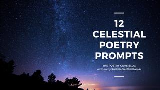 12 Celestial Poetry Prompts + Moodboard