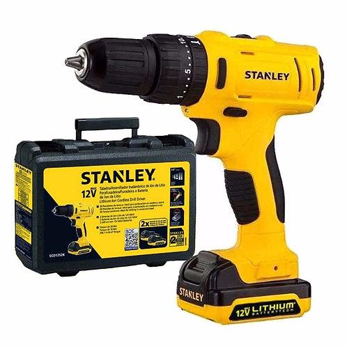 Taladro percutor inalámbrico Stanley SCH12S2K-AR