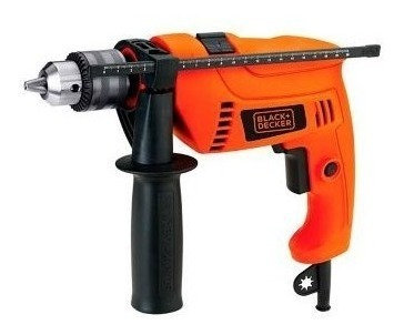 Taladro percutor Black & Decker HD650K-AR
