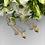 Thumbnail: Kolczyki złote wiszące