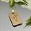 Thumbnail: Medalik złoty z Jezusem