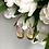 Thumbnail: Kolczyki złote ażurowe