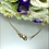 Thumbnail: Bransoletka złota klucz